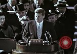 Image of John F Kennedy's Inaugural speech Washington DC USA, 1961, second 29 stock footage video 65675034027