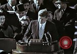 Image of John F Kennedy's Inaugural speech Washington DC USA, 1961, second 31 stock footage video 65675034027
