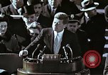 Image of John F Kennedy's Inaugural speech Washington DC USA, 1961, second 34 stock footage video 65675034027