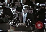 Image of John F Kennedy's Inaugural speech Washington DC USA, 1961, second 35 stock footage video 65675034027