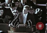 Image of John F Kennedy's Inaugural speech Washington DC USA, 1961, second 36 stock footage video 65675034027