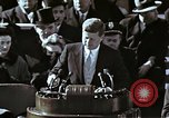 Image of John F Kennedy's Inaugural speech Washington DC USA, 1961, second 38 stock footage video 65675034027