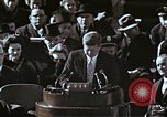 Image of John F Kennedy's Inaugural speech Washington DC USA, 1961, second 39 stock footage video 65675034027