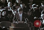 Image of John F Kennedy's Inaugural speech Washington DC USA, 1961, second 41 stock footage video 65675034027