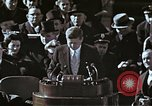 Image of John F Kennedy's Inaugural speech Washington DC USA, 1961, second 42 stock footage video 65675034027