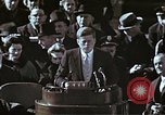 Image of John F Kennedy's Inaugural speech Washington DC USA, 1961, second 43 stock footage video 65675034027