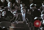 Image of John F Kennedy's Inaugural speech Washington DC USA, 1961, second 44 stock footage video 65675034027