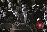 Image of John F Kennedy's Inaugural speech Washington DC USA, 1961, second 45 stock footage video 65675034027