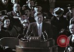 Image of John F Kennedy's Inaugural speech Washington DC USA, 1961, second 46 stock footage video 65675034027