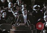 Image of John F Kennedy's Inaugural speech Washington DC USA, 1961, second 47 stock footage video 65675034027