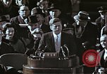 Image of John F Kennedy's Inaugural speech Washington DC USA, 1961, second 48 stock footage video 65675034027