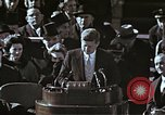 Image of John F Kennedy's Inaugural speech Washington DC USA, 1961, second 54 stock footage video 65675034027