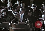 Image of John F Kennedy's Inaugural speech Washington DC USA, 1961, second 61 stock footage video 65675034027