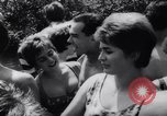 Image of teenagers party Germany, 1961, second 26 stock footage video 65675034191