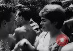 Image of teenagers party Germany, 1961, second 27 stock footage video 65675034191