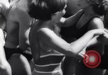 Image of teenagers party Germany, 1961, second 28 stock footage video 65675034191