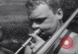 Image of teenagers party Germany, 1961, second 41 stock footage video 65675034191