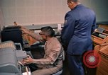 Image of Russian teletype machine Washington DC USA, 1963, second 45 stock footage video 65675034232