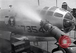 Image of washing B-29  Marshall Islands, 1946, second 34 stock footage video 65675034522