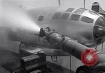 Image of washing B-29  Marshall Islands, 1946, second 36 stock footage video 65675034522