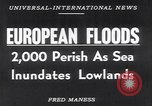 Image of hurricane Europe, 1953, second 15 stock footage video 65675034635