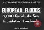 Image of hurricane Europe, 1953, second 17 stock footage video 65675034635