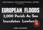 Image of hurricane Europe, 1953, second 19 stock footage video 65675034635