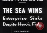 Image of The SS Flying Enterprise Atlantic Ocean, 1952, second 16 stock footage video 65675034652