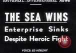 Image of The SS Flying Enterprise Atlantic Ocean, 1952, second 17 stock footage video 65675034652