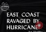 Image of Great Atlantic Hurricane United States USA, 1944, second 2 stock footage video 65675034857
