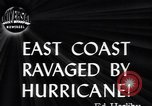 Image of Great Atlantic Hurricane United States USA, 1944, second 3 stock footage video 65675034857