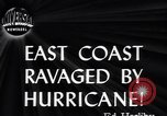 Image of Great Atlantic Hurricane United States USA, 1944, second 4 stock footage video 65675034857