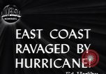 Image of Great Atlantic Hurricane United States USA, 1944, second 5 stock footage video 65675034857