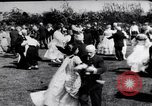 Image of American civil war period dancing Oakland California USA, 1919, second 25 stock footage video 65675035194