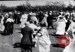 Image of American civil war period dancing Oakland California USA, 1919, second 26 stock footage video 65675035194