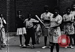 Image of 1960s African American children Long Island New York USA, 1960, second 15 stock footage video 65675035581