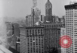 Image of Wall Street financial center 1920s New York City USA, 1925, second 7 stock footage video 65675036356