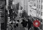 Image of Wall Street financial center 1920s New York City USA, 1925, second 13 stock footage video 65675036356