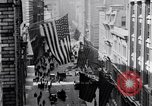 Image of Wall Street financial center 1920s New York City USA, 1925, second 14 stock footage video 65675036356