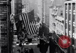 Image of Wall Street financial center 1920s New York City USA, 1925, second 15 stock footage video 65675036356