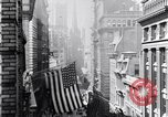 Image of Wall Street financial center 1920s New York City USA, 1925, second 24 stock footage video 65675036356