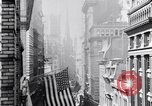 Image of Wall Street financial center 1920s New York City USA, 1925, second 27 stock footage video 65675036356
