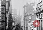 Image of Wall Street financial center 1920s New York City USA, 1925, second 31 stock footage video 65675036356