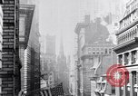Image of Wall Street financial center 1920s New York City USA, 1925, second 32 stock footage video 65675036356