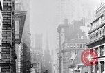 Image of Wall Street financial center 1920s New York City USA, 1925, second 34 stock footage video 65675036356