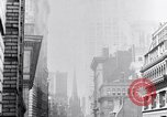 Image of Wall Street financial center 1920s New York City USA, 1925, second 37 stock footage video 65675036356