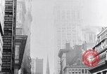 Image of Wall Street financial center 1920s New York City USA, 1925, second 40 stock footage video 65675036356
