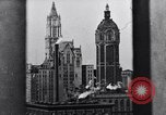 Image of Wall Street financial center 1920s New York City USA, 1925, second 58 stock footage video 65675036356