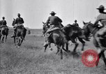 Image of United States Army 1st Cavalry Division troops on maneuvers Texas United States USA, 1923, second 56 stock footage video 65675036445
