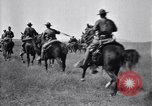 Image of United States Army 1st Cavalry Division troops on maneuvers Texas United States USA, 1923, second 57 stock footage video 65675036445